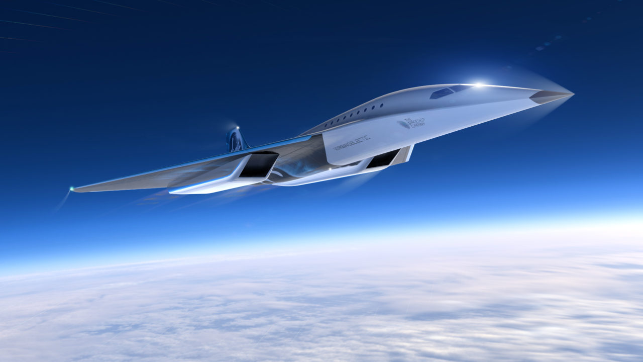 Virgin Galactic unveils concept designs for the March 3 high speed plane