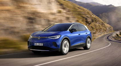 Volkswagen launch its latest all electric SUV the ID.4