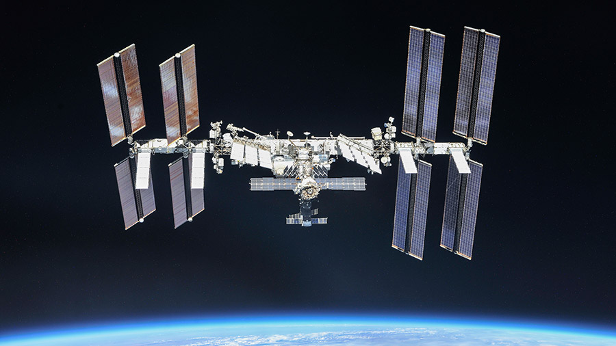 ISS had to move out the way of space debris