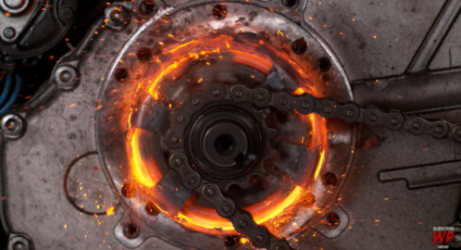 Watch this go-Kart clutch melt and fail in slow motion