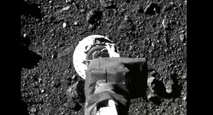 NASA release footage of asteroid touch-down