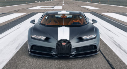 Bugatti pay tribute to legends of aviation with a special edition Chiron Sport
