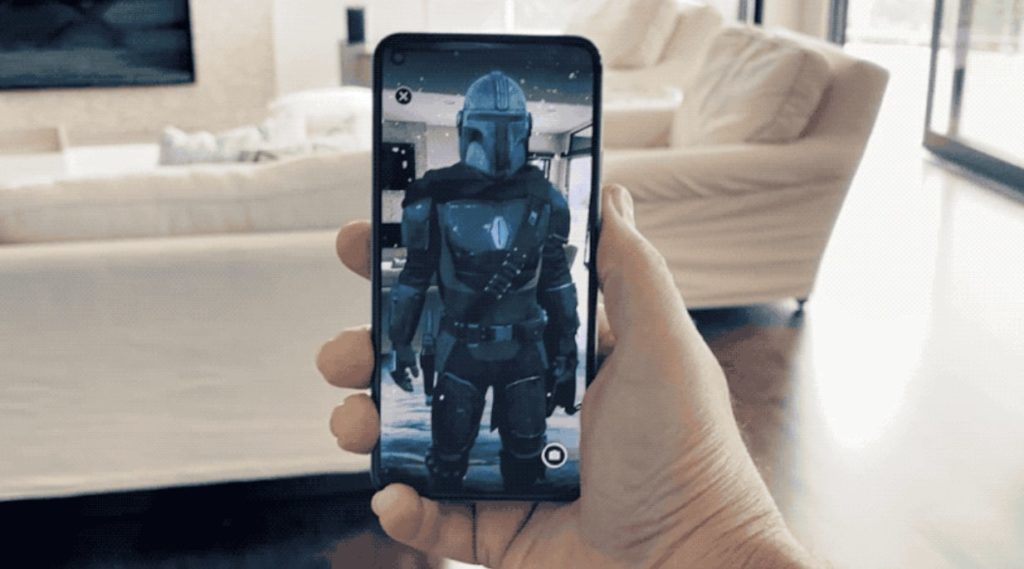 Hang out with the Mandalorian using Google AR
