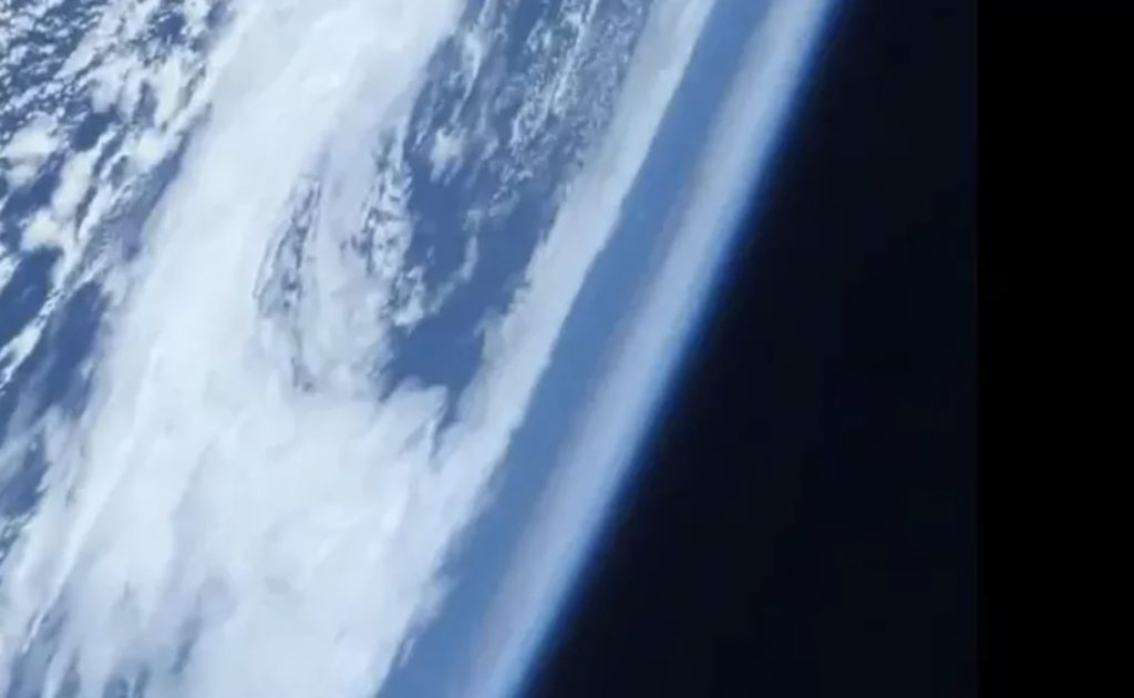 Astronaut takes stunning video of Earth from space