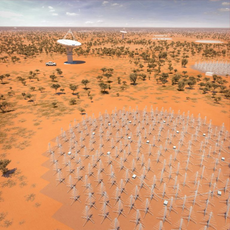 Starlink project could cause problems for SKA telescope