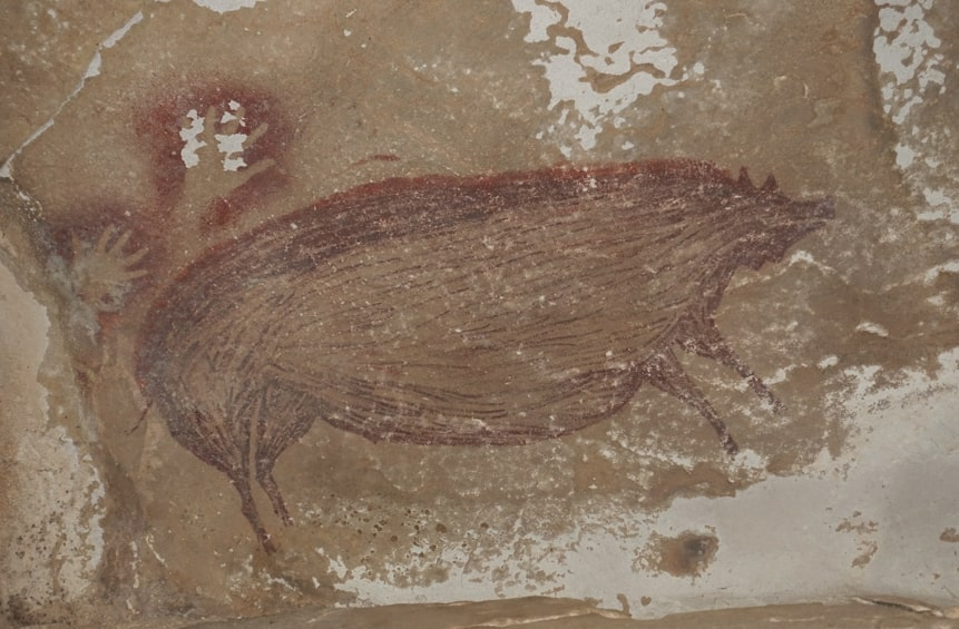 45,500-year-old cave art found in Indonesia