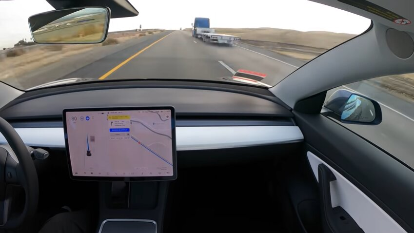 Tesla Model 3 completes autonomous journey from San Francisco to Los Angeles