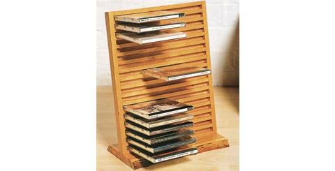 How To Build A Cd Rack