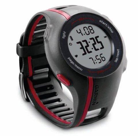 garmin forerunner 238 how to change date